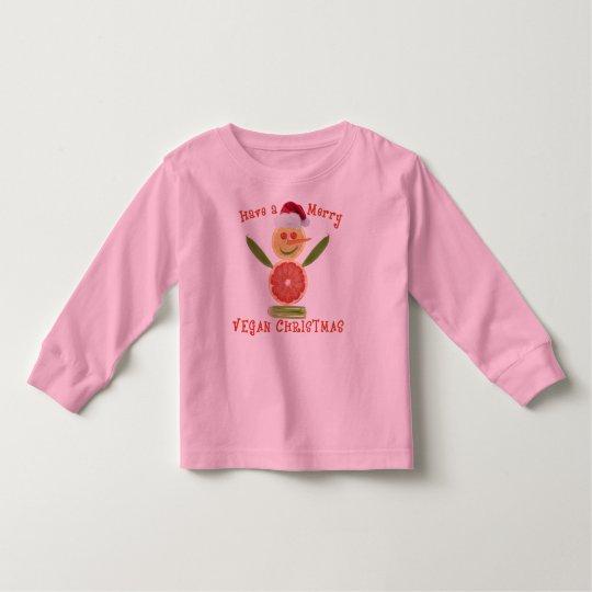 Merry Vegan Christmas Toddler T-shirt