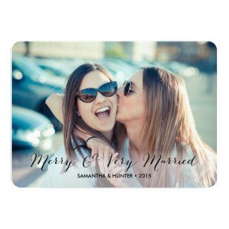 Merry & Very Married Couples Card