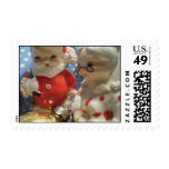 Merry Vintage Christmas Stamp