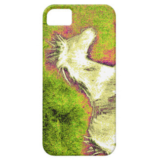 Merry Warm Holidays white horse iPhone SE/5/5s Case