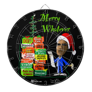 Merry Whatever Dartboard