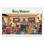 Merry Whatever! Greeting Cards