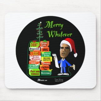 Merry Whatever Mouse Pad