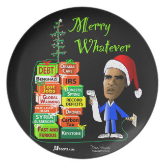 Merry Whatever Party Plates