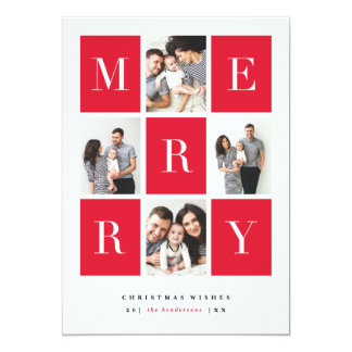 Merry wishes | Christmas card