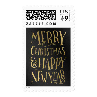 Merry Wishes Editable Color Holiday Stamp