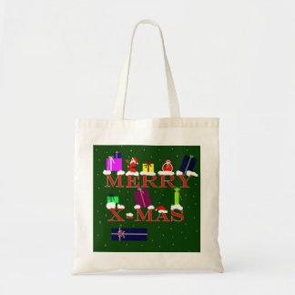 Merry X-Mas Tote Bags