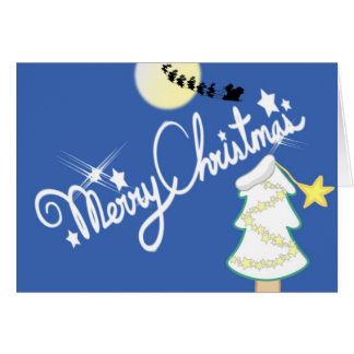 Merry X-mas Greeting Card