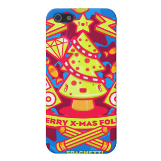 Merry X-mas Folks iPhone 5 Cover