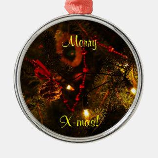Merry X-mas Ornament