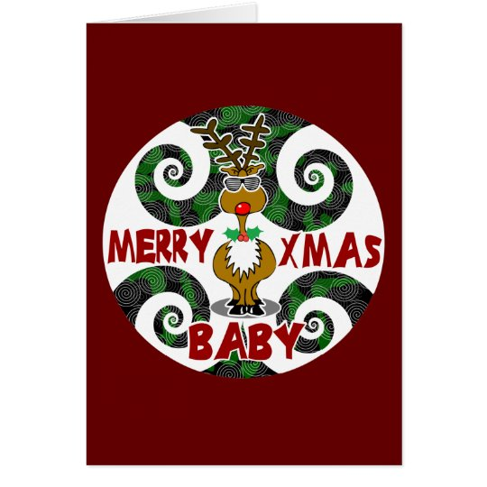 Merry Xmas Baby Card
