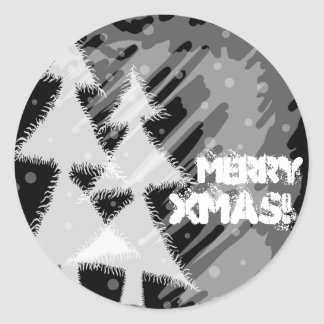 Merry Xmas! Classic Round Sticker