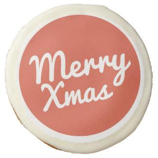 Merry Xmas Cookies Sugar Cookie