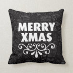 Merry xmas cute modern home deco pillow