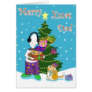 Merry Xmas  Dad Cards