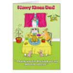 Merry Xmas  Dad Greeting Card