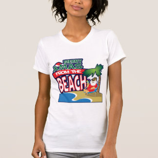 MERRY XMAS FROM THE BEACH Tee