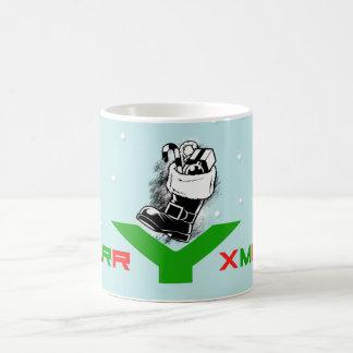 Merry Xmas Good Ol' Saint Nick Coffee Mugs