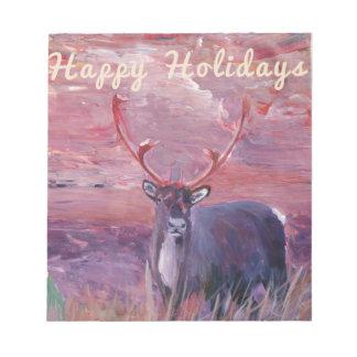 Merry Xmas, Happy Holiday, Felize Navidad, Note Pads