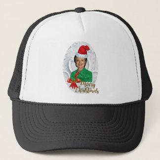 merry xmas Hillary clinton Trucker Hat