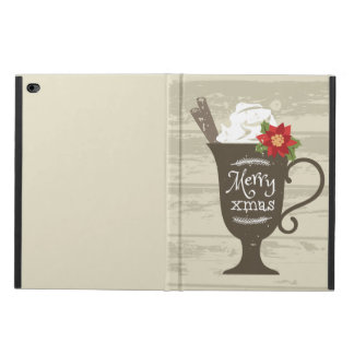 Merry Xmas Holiday Ice Cream Powis iPad Air 2 Case