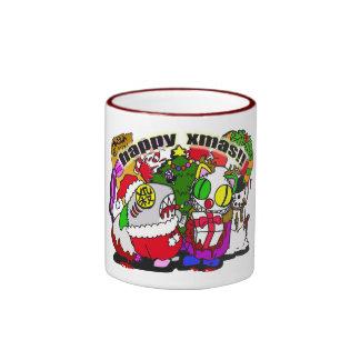 merry xmas! coffee mugs