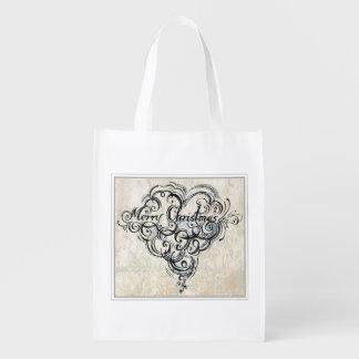 Merry Xmas - reusable bags