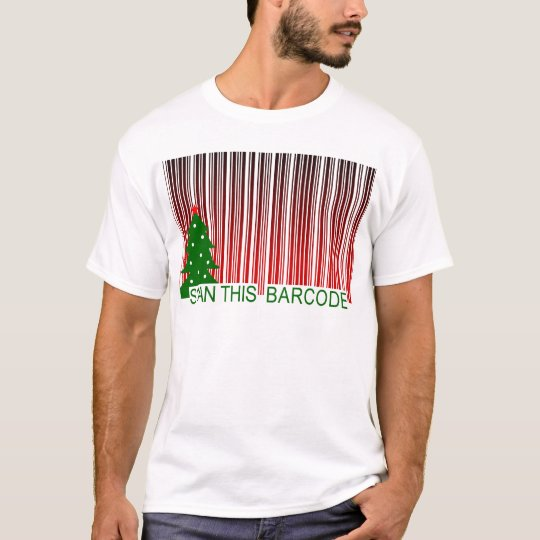 MERRY XMAS : scan this barcode T-Shirt