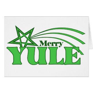 Merry Yule Card