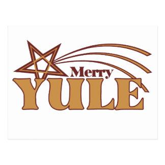 Merry Yule Postcard
