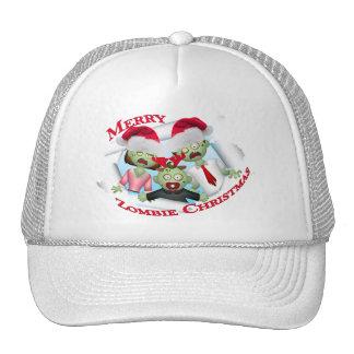 Merry Zombie Family Christmas Trucker Hat