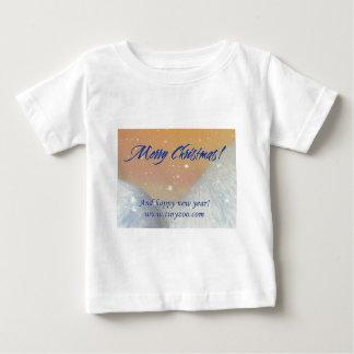 MerryChristmas_2hills_1024x753 Baby T-Shirt