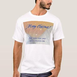 MerryChristmas_2hills_1024x753 T-Shirt