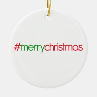 #merrychristmas twitter ornament