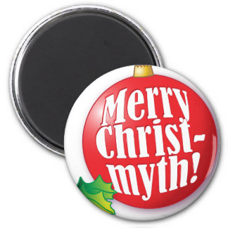MerryChristmyth.ai Magnet