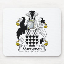 Merryman Family Crest Mousepad