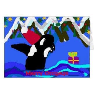 MerryOrcmas, Merry Orcamas Card