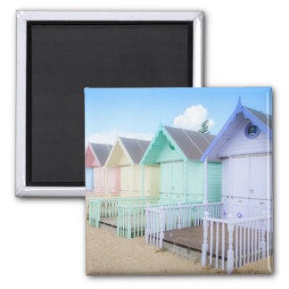 Mersea Island Beach Huts Magnet