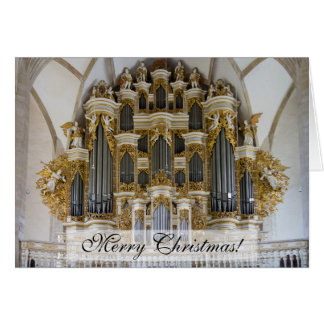 Merseburg Cathedral organ Christmas card