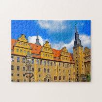 Merseburg Saxony Anhalt Germany. Jigsaw Puzzle