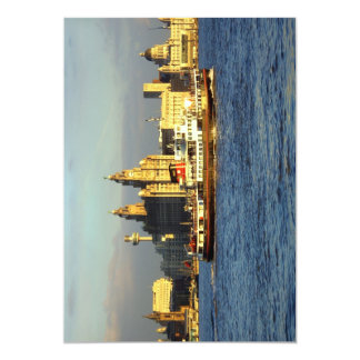 Mersey Ferry & Liverpool Waterfront Card