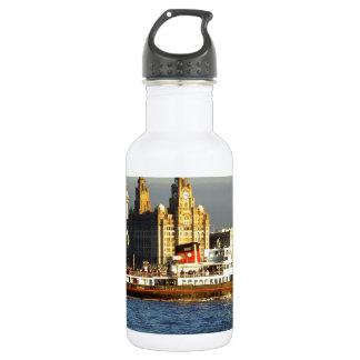 Mersey Ferry & Liverpool Waterfront 18oz Water Bottle