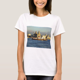 Mersey Ferry & Liverpool Waterfront T-Shirt