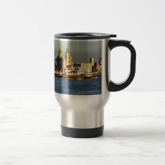 Mersey Ferry & Liverpool Waterfront Travel Mug