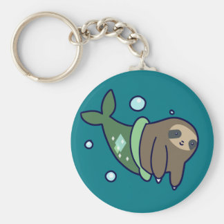 MerSloth Keychain