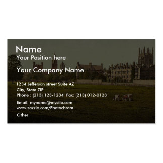 Merton and Christ Church College, Oxford, England Business Card Templates