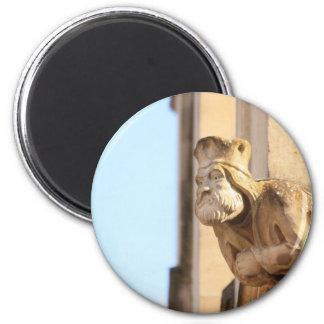 Merton College Gargoyle 2 Inch Round Magnet