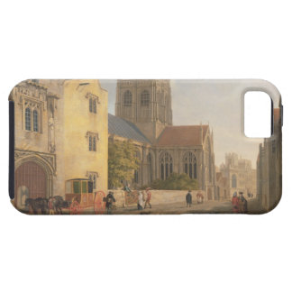 Merton College, Oxford, 1771 (oil on canvas) iPhone SE/5/5s Case