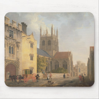 Merton College, Oxford, 1771 (oil on canvas) Mouse Pad
