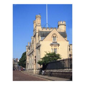 Merton College, Oxford Letterhead